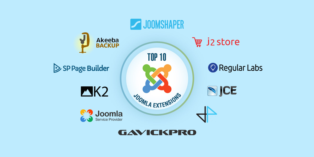 Top 10 must have Free Joomla Extensions in your site